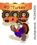A Turkey Gentleman With Pilgri...