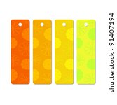 set of colorful price tags... | Shutterstock .eps vector #91407194