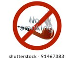"""smoking pipes and the words """"no ... 