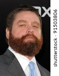 "zach galifianakis at ""the... 