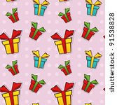 seamless repeating pattern with ... | Shutterstock .eps vector #91538828
