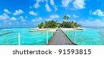 Maldives Island Panorama