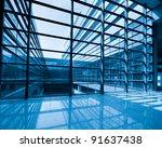 image of windows in morden... | Shutterstock . vector #91637438