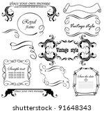 vintage design | Shutterstock .eps vector #91648343