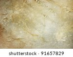 grunge texture background with text stains splashes and scratches for vintage works - stock photo