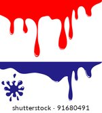 colored blots | Shutterstock .eps vector #91680491