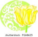tulip | Shutterstock .eps vector #9168625