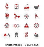 science icons | Shutterstock .eps vector #91696565