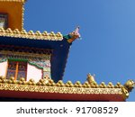 Buddhist Site in India - stock photo