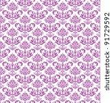 Seamless Pink Floral Wallpaper...