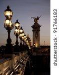 Pont Alexandre Iii Bridge...
