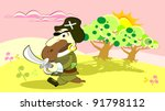 pirate | Shutterstock .eps vector #91798112