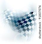 blue checkered background  10eps | Shutterstock .eps vector #91837076