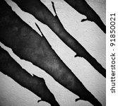 broken wall | Shutterstock . vector #91850021