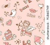 Doodle Valentine\'s Day Lovely...