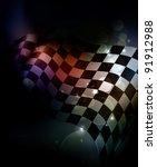Dark Checkered Background  10eps