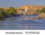 Typical Sailing On The Nile. I...