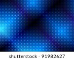 glowing blue abstract party... | Shutterstock . vector #91982627