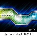 eps10 vector abstract... | Shutterstock .eps vector #91983911