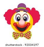 happy clown   Shutterstock .eps vector #92034197