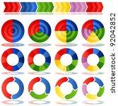 an image of a process target... | Shutterstock .eps vector #92042852