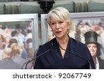 helen mirren at the helen... | Shutterstock . vector #92067749