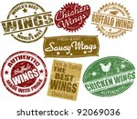 set of grunge rubber stamps...