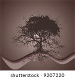 tree vector illustration | Shutterstock .eps vector #9207220