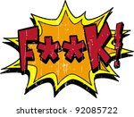 f word | Shutterstock .eps vector #92085722
