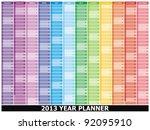 Vector    2013 Year Planner