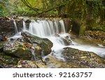 rocks water autumn | Shutterstock . vector #92163757