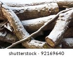 Winter  Wood For The Log Fire...