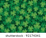 Seamless Clover Tile. Place...