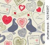 love | Shutterstock .eps vector #92190397