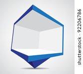 billboard icon   Shutterstock .eps vector #92206786