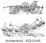 Old Ploughs   Vintage...