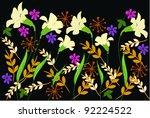 flower | Shutterstock .eps vector #92224522