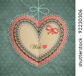 Valentine S Day Vintage Card...