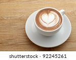 A  Cup Of Coffee With Heart...
