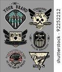 logo label banner collection set | Shutterstock .eps vector #92252212