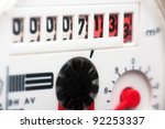 macro view of the counter of...   Shutterstock . vector #92253337