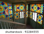 Famous Stained Glass Entrance...
