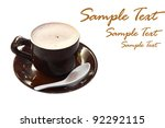 hot chocolate mocha coffee... | Shutterstock . vector #92292115