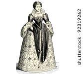 Princess   Vintage Engraved...