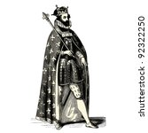 15th century,ancient,antique,art,artwork,background,cape,century,character,clothing,costume,crown,cut out,drawing,elegant
