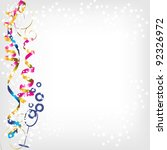 celebratory background with... | Shutterstock .eps vector #92326972