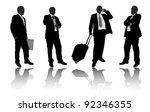business people | Shutterstock .eps vector #92346355