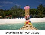 resort in koh phi phi island ...   Shutterstock . vector #92403109