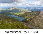 Mountain View From The Snowdon...
