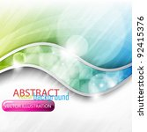 eps10 abstract vector colorful... | Shutterstock .eps vector #92415376